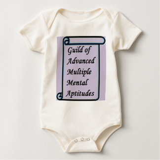Guild of Advanced Multiple Mental Aptitudes store Baby Bodysuit
