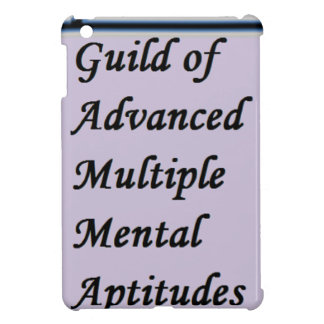 Guild of Advanced Multiple Mental Aptitudes store iPad Mini Cover