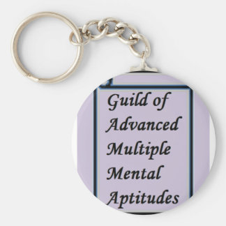 Guild of Advanced Multiple Mental Aptitudes store Keychain