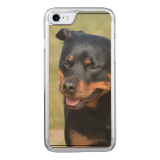 Guileless Rottweiler Carved iPhone 7 Case