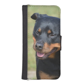 Guileless Rottweiler iPhone SE/5/5s Wallet Case