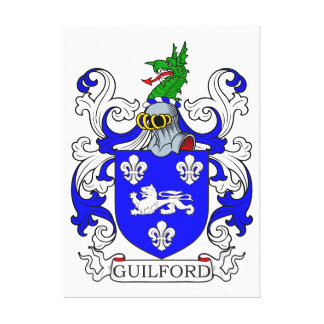 Guilford Coat of Arms I Canvas Print