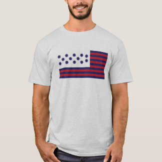 Guilford Courthouse Flag - Revolutionary War T-Shirt