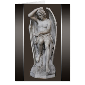 Guillaume Geefs Lucifer CC0284 Greeting Card