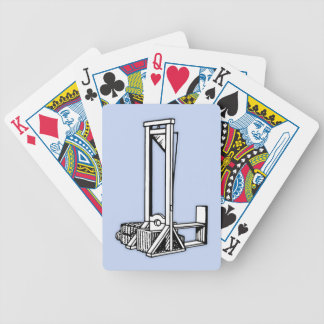Guillotine Bicycle Playing Cards