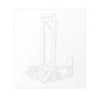 Guillotine Notepad