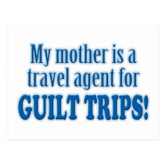 Guilt Trips Postcard
