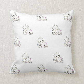 Guilty Cats ™- I Love My Cats Pillow