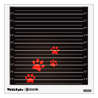 Guilty Cats Square Wall Decals