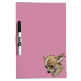 Guilty Chihuahua Puppy Dry Erase Board