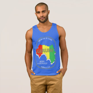 Guiluxe Beer of Guinea Men's Tank (Dark Color)