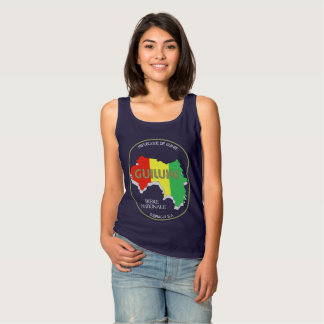 Guiluxe Beer of Guinea Women's Tank (Dark Colors)