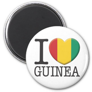 Guinea 2 Inch Round Magnet