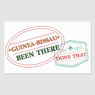 Guinea-Bissau Been There Done That Sticker