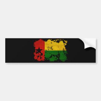 Guinea Bissau Flag Bumper Sticker