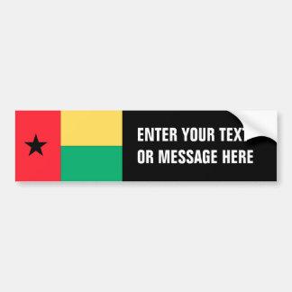 Guinea-Bissau Flag Bumper Sticker