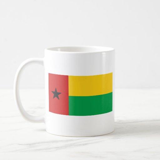 Guinea-Bissau Flag ~ Map Mug