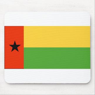 Guinea-Bissau Flag Mousepad