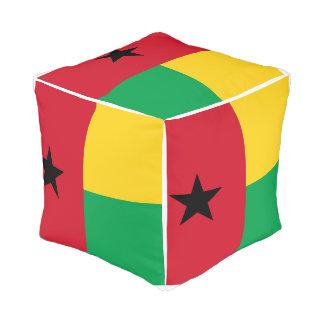 Guinea-Bissau Flag Pouf