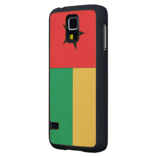 Guinea-Bissau Flag Maple Galaxy S5 Case