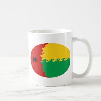 Guinea Bissau Gnarly Flag Mug