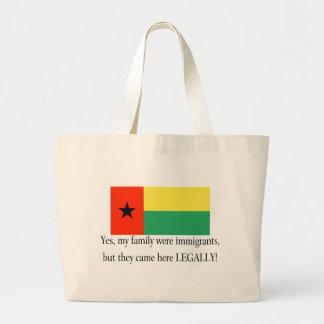 Guinea Bissau Jumbo Tote Bag