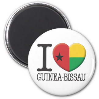 Guinea-Bissau Fridge Magnet