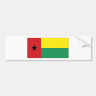 Guinea-Bissau National Flag Bumper Sticker