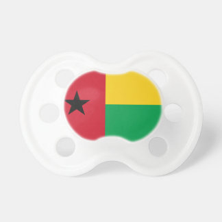 Guinea-Bissau National World Flag Baby Pacifiers