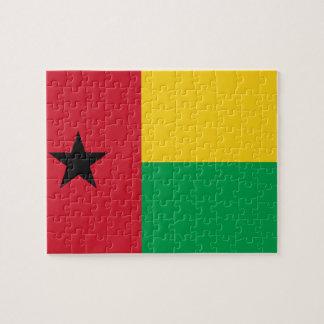 Guinea-Bissau National World Flag Jigsaw Puzzle