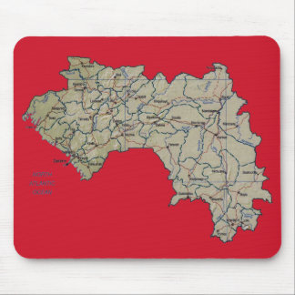 Guinea-Conakry Map Mousepad