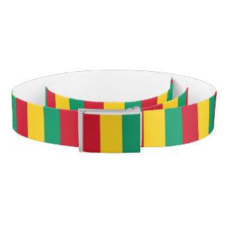 Guinea Flag Belt