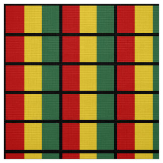 Guinea Flag Fabric