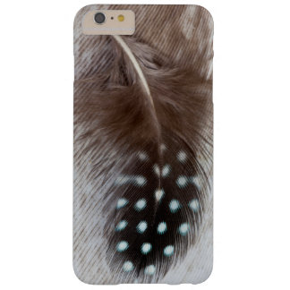 Guinea fowl and goose feather barely there iPhone 6 plus case