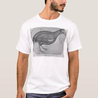 Guinea Fowl, from the The Vallardi Album T-Shirt