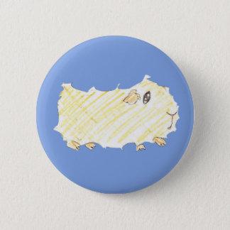 Guinea Girl Button