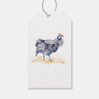 Guinea hen gift tags