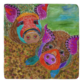 Guinea Hogs Trivet