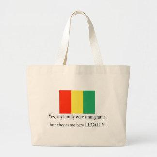 Guinea Jumbo Tote Bag