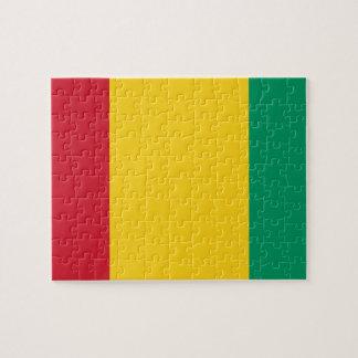 Guinea National World Flag Jigsaw Puzzle