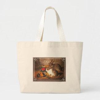 Guinea Pig and Rabbits Tote Bag