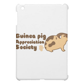 Guinea pig appreciation society GAS iPad Mini Cover