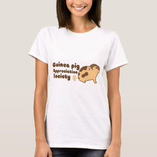 Guinea pig appreciation society GAS T-Shirt
