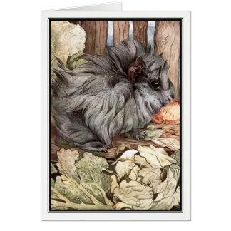 Guinea Pig by E. J. Detmold Card