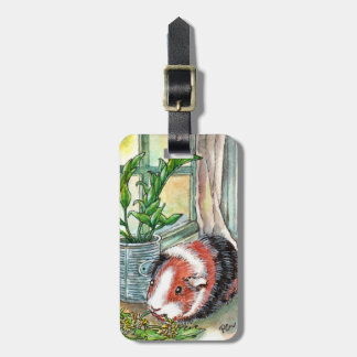 Guinea Pig by the Window Luggage Tag