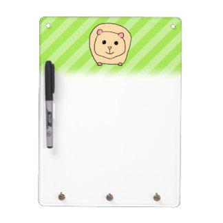Guinea Pig, Cartoon Animal. Dry Erase Board