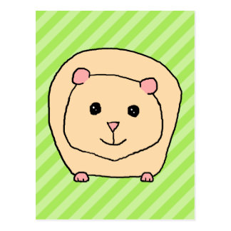 Guinea Pig Cartoon Animal Post Cards