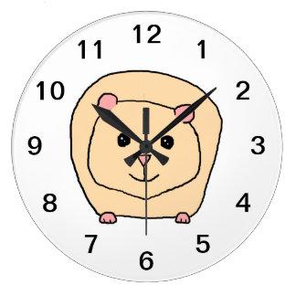 Guinea Pig Cartoon. Clocks