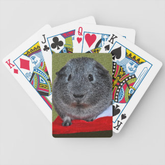 Guinea Pig Christmas Bicycle Playing Cards