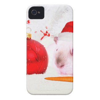 Guinea Pig Christmas Case-Mate iPhone 4 Cases